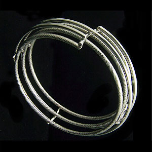 Titanium Bangle Bracelet